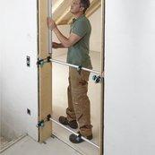 Door and door frame fitting